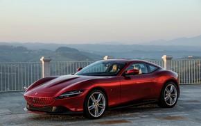 Картинка купе, Ferrari, Roma, 2020, двухдверное, F169