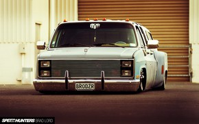 Картинка Chevrolet, Tuning, Truck, Lowrider, Pickup, Custom