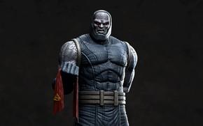 Картинка злодей, плащ, Superman, DC Comics, darkseid
