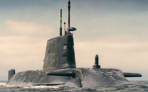 Картинка Англия, субмарина, hms Artful