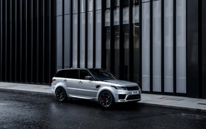 Картинка улица, Land Rover, Range Rover, Range Rover Sport, 2020, HST