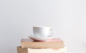 Картинка Coffee, Wallpaper, Book