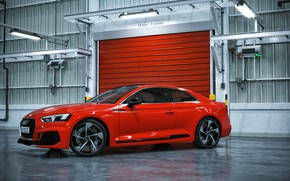 Картинка Audi, Красный, Авто, Машина, Car, Auto, Render, RS5, Рендеринг, Audi RS5, Transport & Vehicles, by …