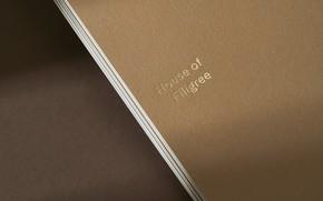 Картинка бумага, надпись, текстура, стопка, House of Filigree