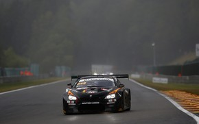 Картинка туман, купе, BMW, дымка, трек, влажность, 2019, M6 GT3