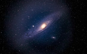 Картинка спиральная, Галактика Андромеды, M31