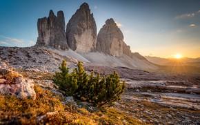 Картинка свет, горы, утро