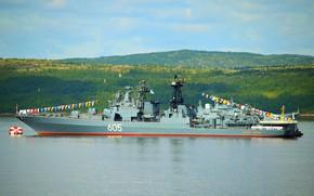 Картинка корабль, противолодочный, проект 1155, адмирал левченко