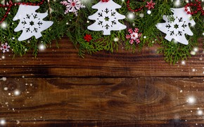 Картинка снег, елка, Новый Год, Рождество, Christmas, wood, snow, New Year, decoration, Happy, Merry, fir tree, …