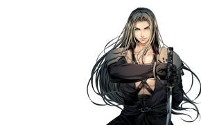 Картинка арт, Final Fantasy, Sephiroth, фЭнтези