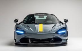 Картинка McLaren, суперкар, вид спереди, Vorsteiner, 2018, 720S, Silverstone Aero Program