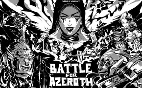 Картинка Warcraft, wow, art, World of Warcraft: Battle for Azeroth