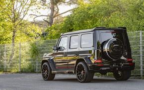 Картинка асфальт, Mercedes-Benz, внедорожник, G-Class, Lumma Design, 2019, CLR G770