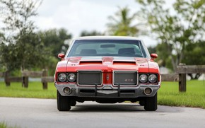 Картинка Classic, Muscle car, Hardtop, Oldsmobile 442, W30