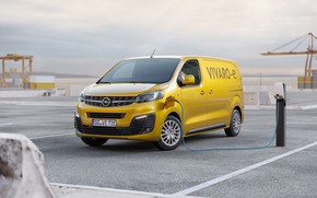 Картинка opel, van, electric vehicle, vivaro