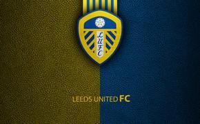 Картинка wallpaper, sport, logo, football, English Premier League, Leeds United