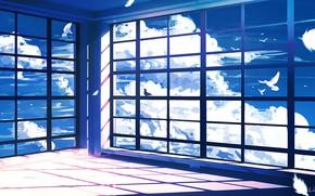 Картинка небо, облака, комната, Lifeline