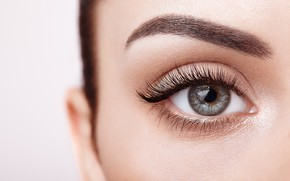 Картинка woman, eyes, eyelashes