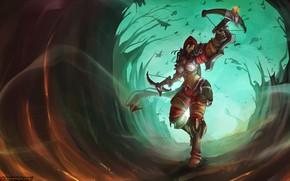 Картинка Blizzard, Art, Diablo 3, Diablo, Valla, Demon Hunters, Nephalem, Vengeance Incarnate, Westmarch, Atryl, by Atryl