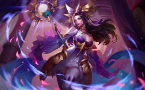 Картинка девушка, магия, Arena of Valor, Strike of Kings