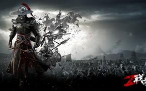 Картинка оружие, воин, Conqueror`s Blade, жоспехи