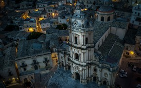 Картинка Italy, Sicily, Modica, Duomo di San Giorgio
