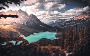 Картинка горы, Природа, озера
