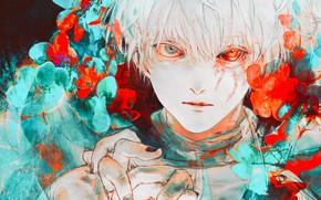 Картинка Tokyo Ghoul, монстр, Ken Kaneki, парень