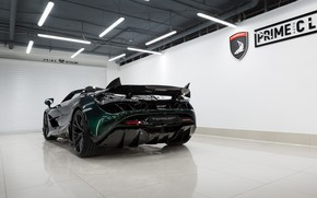 Картинка McLaren, суперкар, вид сзади, Spider, TopCar, Fury, 2020, 720S
