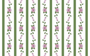 Картинка линии, цветы, белый фон, pattern, floral, текстур