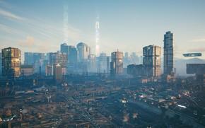 Картинка Cyberpunk 2077, CDPR, Night City