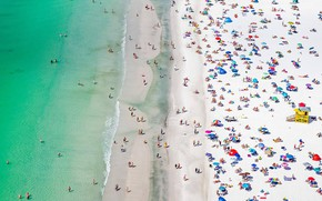 Картинка море, пляж, Флорида, США, Сиеста-Ки