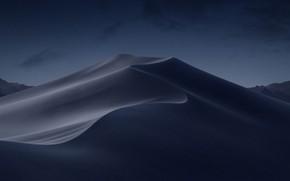 Картинка desert, night, mojave