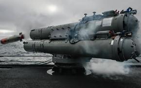 Картинка пушка, торпеда, Mark 46