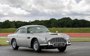 Картинка серый, Aston Martin, 2020, DB5 Goldfinger Continuation