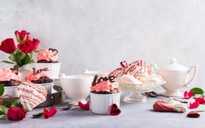 Картинка пирожное, десерт, капкейки, Iryna Melnyk