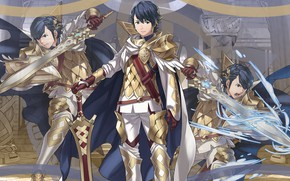 Картинка парень, Heroes, рыцарь, Fire Emblem