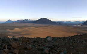 Картинка Argentina, Chili, Bolivia, Panoramic View, The Chajnantor plain, Before ALMA, The Andes
