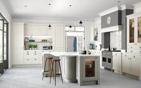 Картинка дизайн, комната, интерьер, кухня