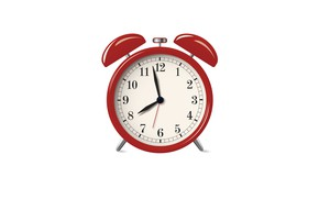 Картинка morning, white background, table clock