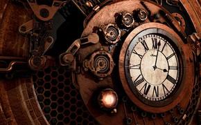 Картинка стрелки, графика, часы, механизм, цифры