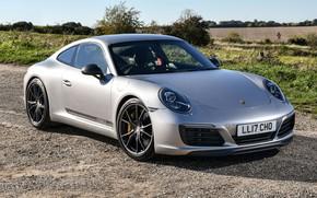 Картинка Porsche, Coupe, 991, 911 Carrera T, Litchfield
