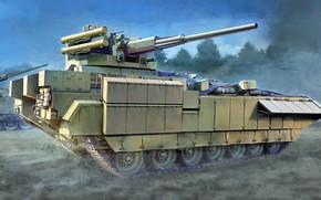 Картинка боевая бронированная машина, 57-мм, БМП, Т-15, перспективная российская