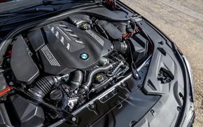 Картинка двигатель, купе, BMW, 2018, 8-Series, 2019, M850i xDrive, 8er, G15