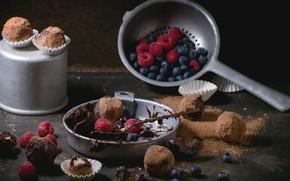Картинка ягоды, конфеты, шоколадный, трюфель, Natasha Breen