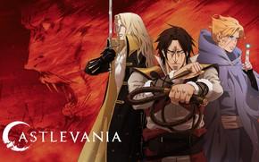 Картинка аниме, арт, персонажи, Castlevania