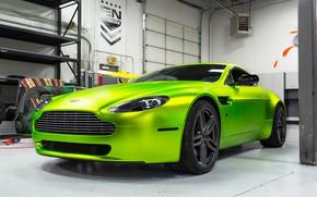 Обои Aston Martin, Vantage, Hybrid, Forged, HF-1