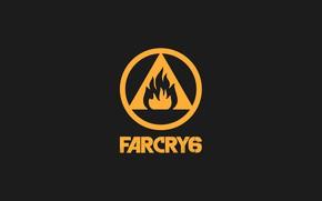 Картинка фон, золото, черный, Игра, Far Cry, Ubisoft, Geme, 2021, Far Cry 6