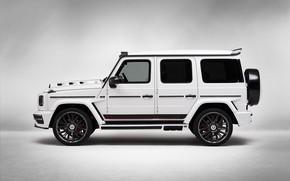Картинка Mercedes-Benz, вид сбоку, AMG, G-Class, Gelandewagen, G63, Lumma Design, 2019, LUMMA CLR G770