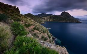Картинка пейзаж, природа, побережье, красота
